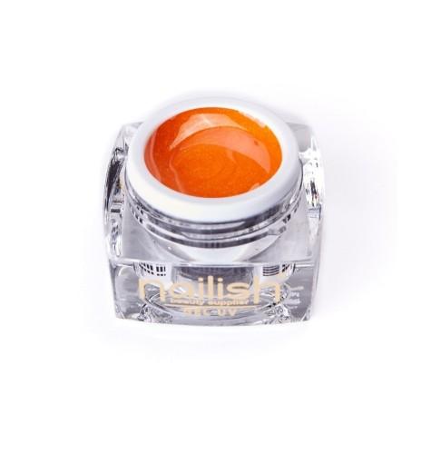 UV-LED- Gel- Glitter -Nailish -Orange- Fine- 5ml