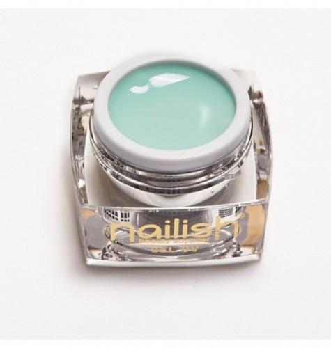 Gel -UV - LED- Color- Nailish- Silky- green -5 ml