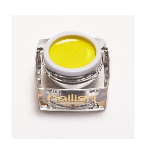 Color -UV- LED- Gel- Yellow- Nailish- 5 ml