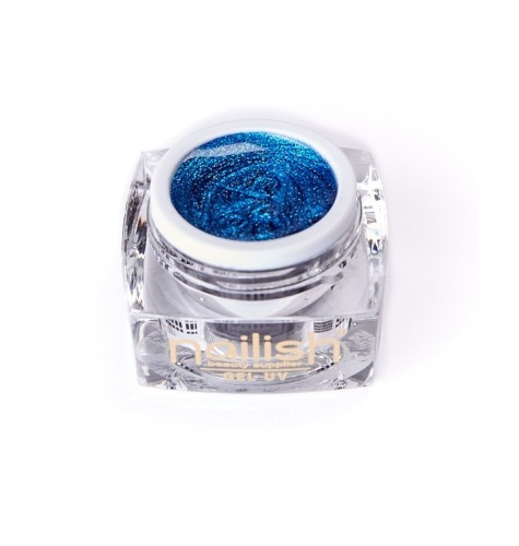 Gel -UV- LED -Glitter- Nailish- Daring -Blue -5 ml
