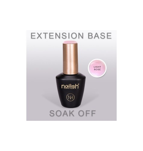 Extension- Base -Light -Rose- Soak -Off -12 ml