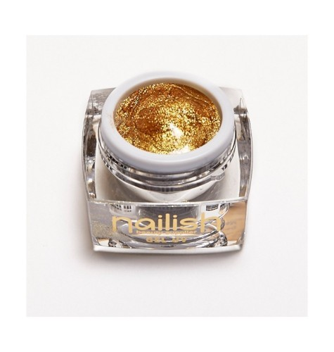 Gel -UV -LED- Paint- Nailish -Van- Gold- 5ml