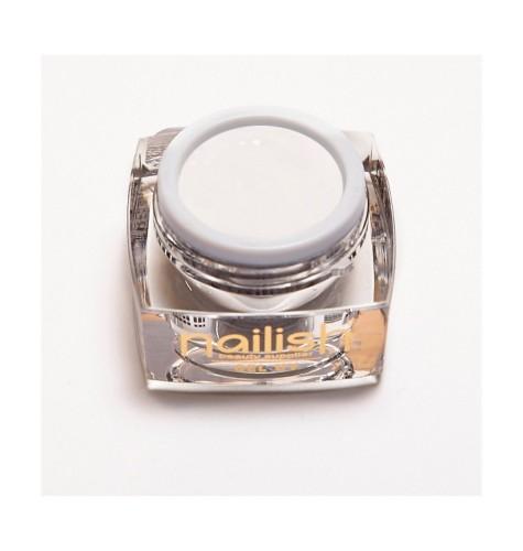 Nailish -Paint -Gel -UV-LED -Achromatique -White- New -5ml